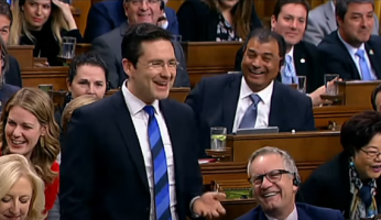 Pierre Poilievre House Laughter