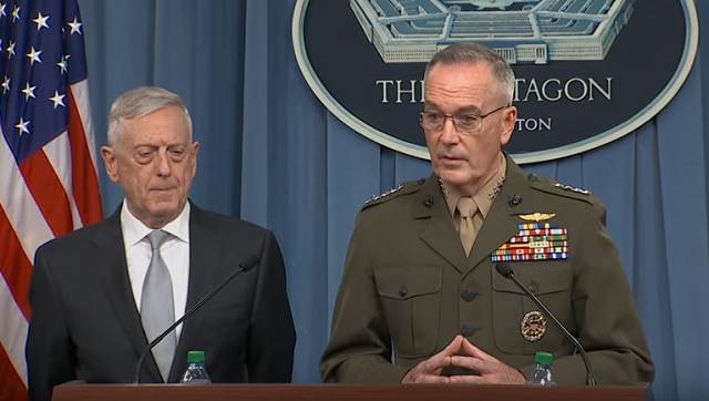 Pentagon Briefing Syria