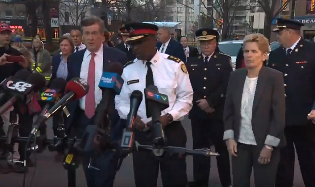 Toronto Authorities Attack Press Conference
