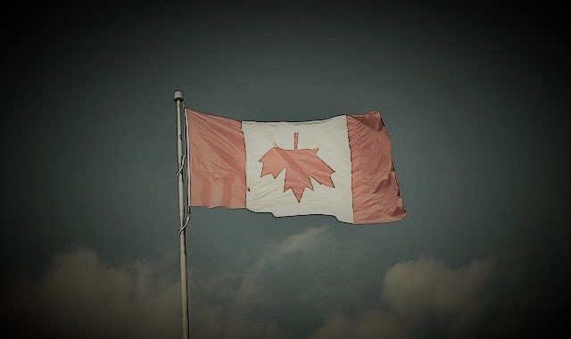 Canada Flag Trouble