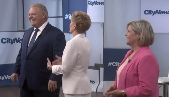 Doug Ford Andrea Horwath