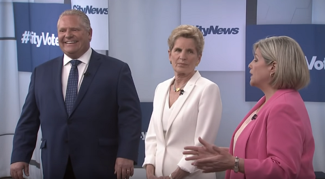 Doug Ford Wins Debate