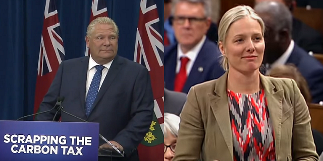 Doug Ford Carbon Tax McKenna