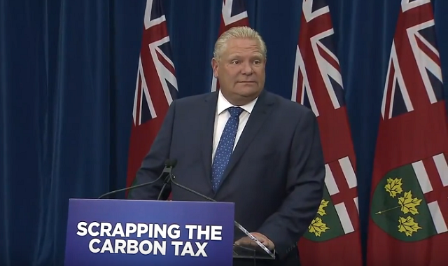 Doug Ford Scrapping Carbon Tax