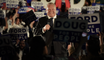 Doug Ford Wins Majority Government