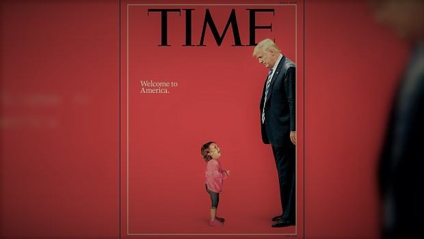 Trump Times Cover Border