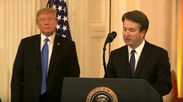 Brett Kavanaugh Supreme Court Trump