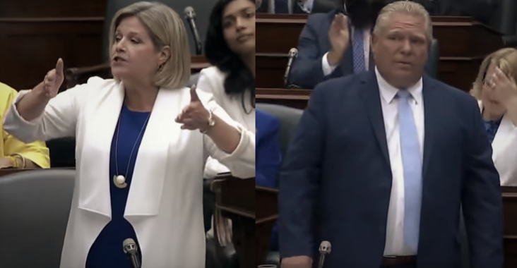 Horwath vs Ford