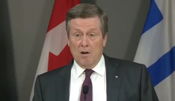 John Tory Whines