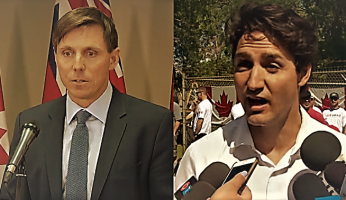 Patrick Brown Trudeau