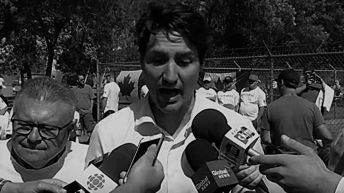 Trudeau Grope CBC Story