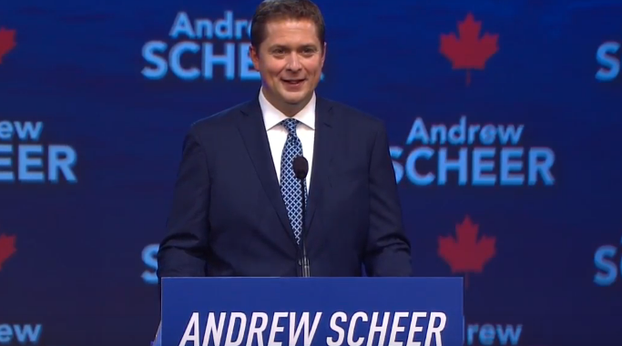 Andrew Scheer Conservative Convention Speech