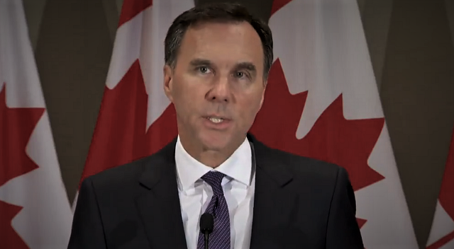 Bill Morneau Trans Mountain