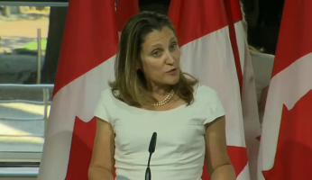 Chrystia Freeland NAFTA Talks