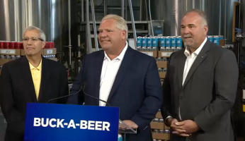 Doug Ford Buck-A-Beer Returns