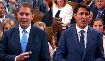 Scheer vs Trudeau Question Period
