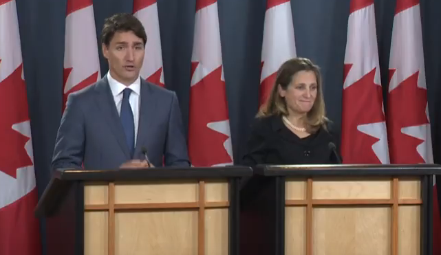 Trudeau Freeland Trade