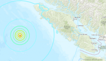 US Geological Survey Vancouver Earthquakes
