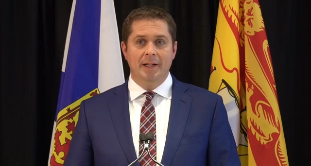Andrew Scheer Speaks on Trudeau Scandal