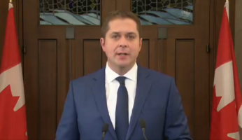 Andrew Scheer calls on Trudeau to resign