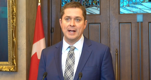 Andrew Scheer Trudeau Cover-Up