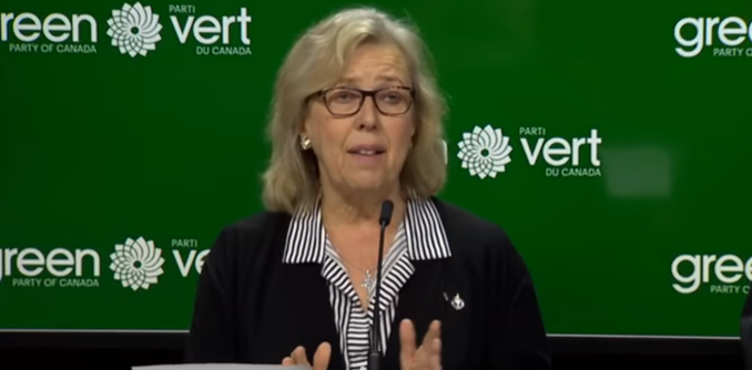 Elizabeth May Trudeau Coalition
