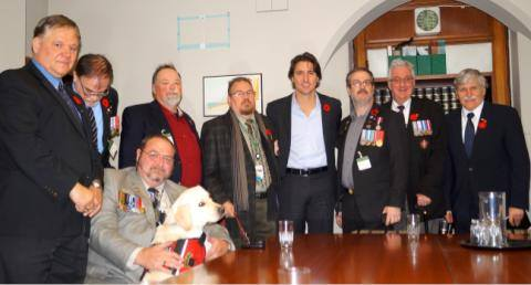 Medric Cousineau Trudeau Meeting