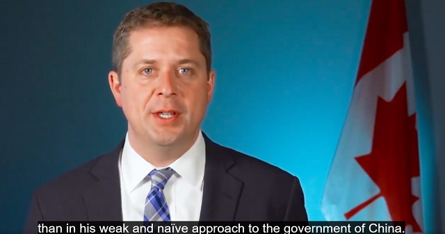 Scheer Rips Trudeau Foreign Policy