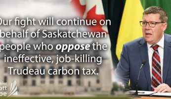 Scott Moe Carbon Tax