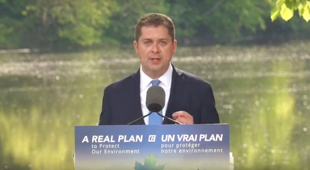 Conservative Andrew Scheer Climate Plan