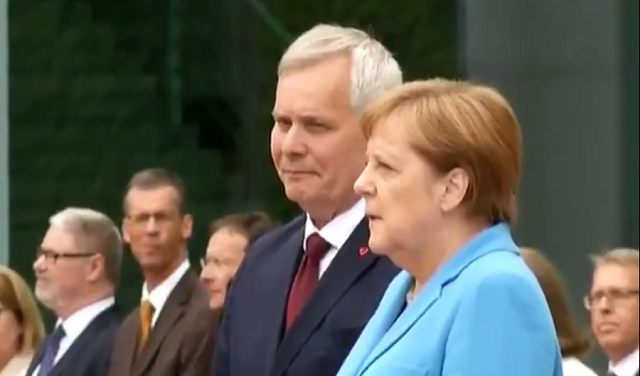 Angela Merkel Shaking Again
