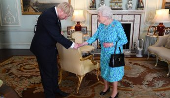 Boris Johnson Queen