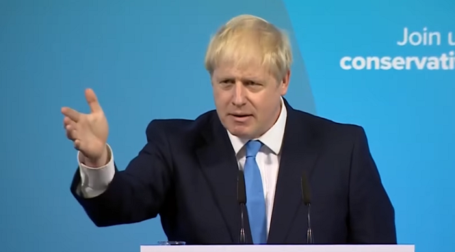 Boris Johnson Victory Speech Conservative UK PM Brexit