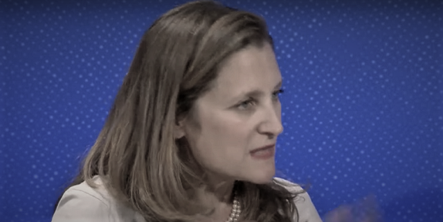 Chrystia Freeland Big Sister