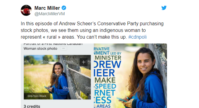 Liberal MP Mark Miller Tweet Racism