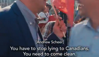 Scheer Tells Trudeau Stop Lying To Canadians