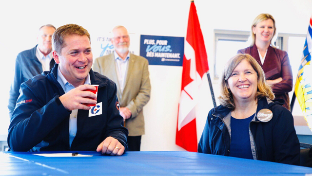 Andrew Scheer Universal Tax Cut For Middle Class Canadians