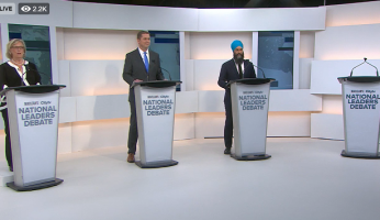 First Canadian Leaders Debate