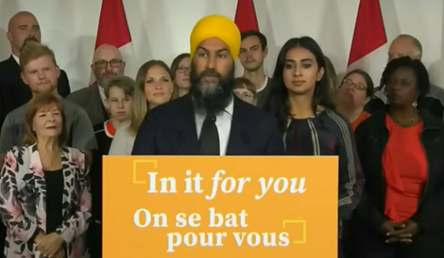 Jagmeet Singh Launches NDP Campaign