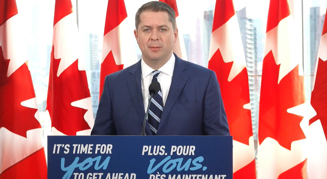 Andrew Scheer Foreign Aid