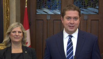 Andrew Scheer Conservative Leadership Team