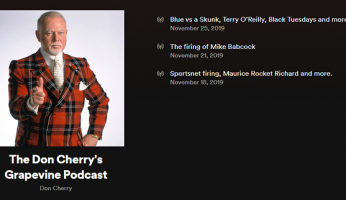 Don Cherry Podcasts New Episods
