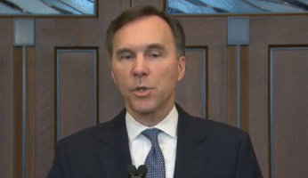 Bill Morneau Fiscal Update