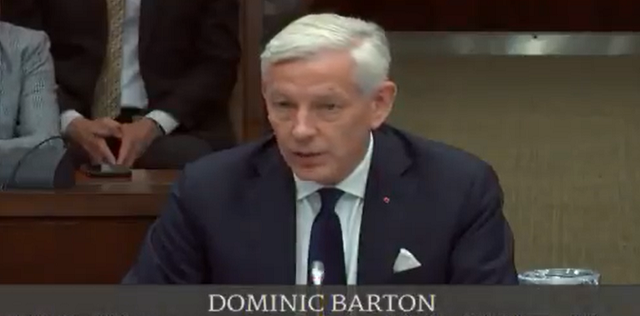 Dominic Barton China