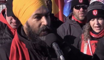 Jagmeet Singh Demonizing Canadian Workers