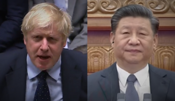 Boris Johnson China Xi