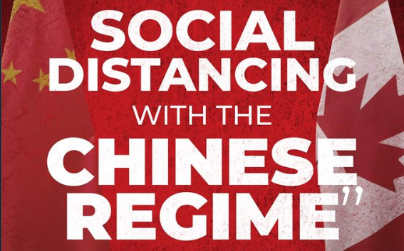 Erin O'Toole Social Distancing China Regime