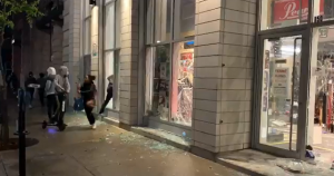 Montreal Radicals Looting