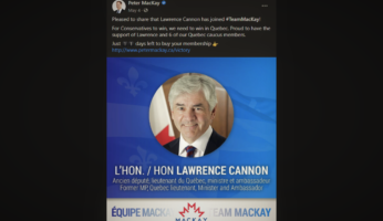 Peter MacKay Lawrence Cannon