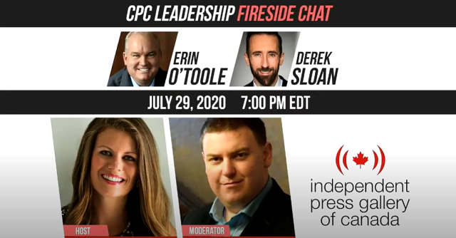 CPC Fireside Chat Independent Press Gallery